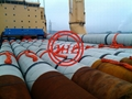 ASTM A252,AS1163 C350L0,AS 1579, API 5L X65,EN10219 LSAW STEEL PIPE PILES