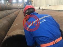 环氧涂覆钢管桩,桩管