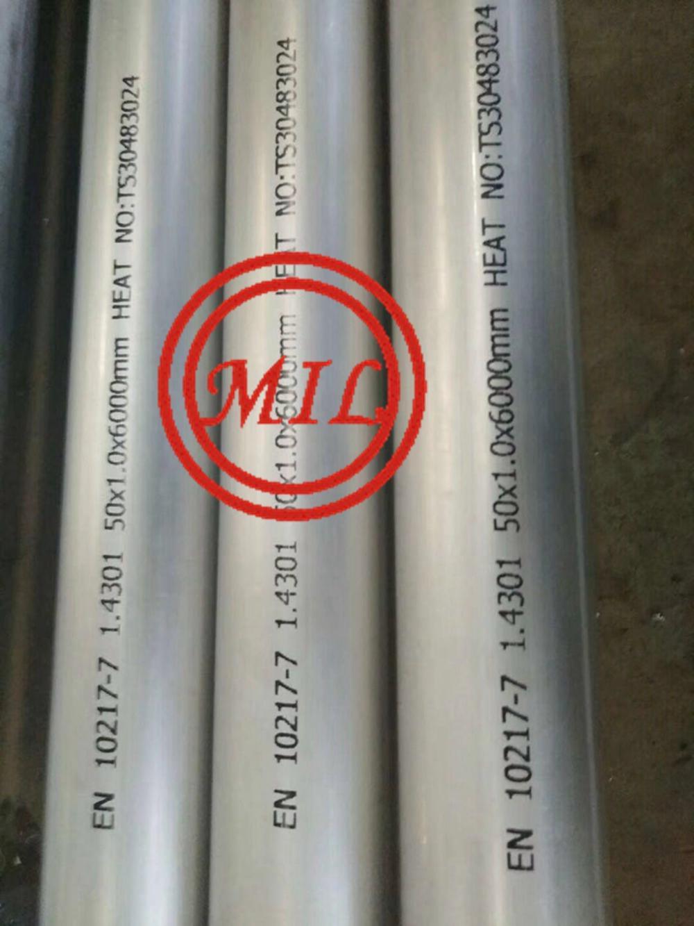 ASTM A268,EN 10217-7 小口徑不鏽鋼焊接鋼管 10
