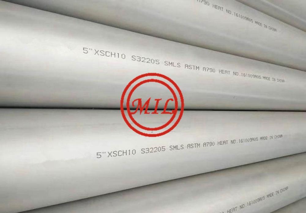 ASTM A790 S32205 DUPLEX SEAMLESS STEEL TUBE