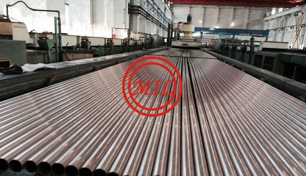 ASTM B111 UNS C70600 UNS C7060X Copper Nickel Alloy Tubes