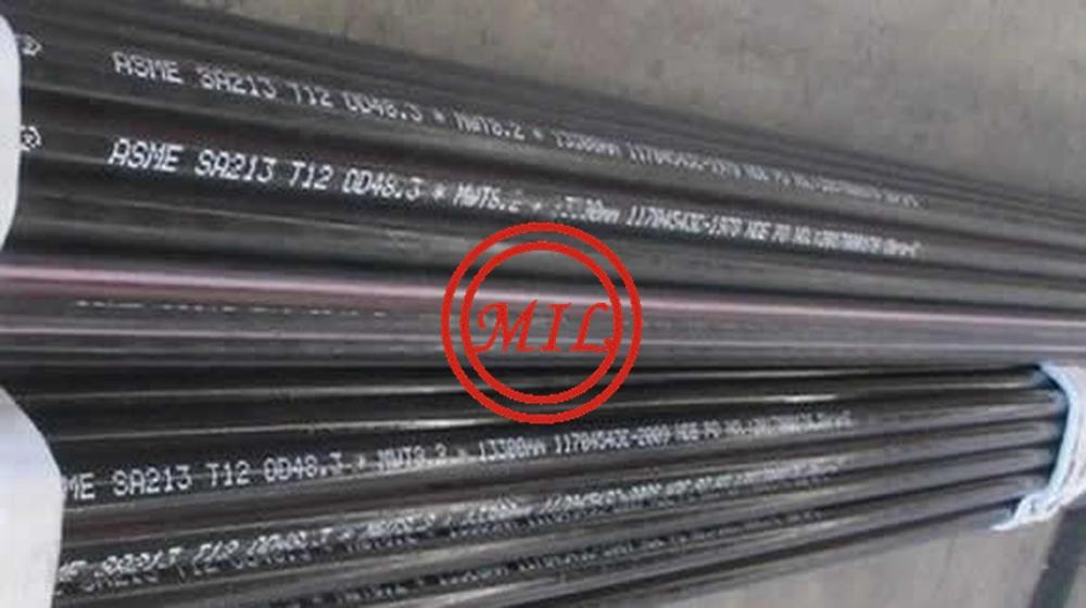 ASME SA213 T12 SEAMLESS STEEL TUBE FOR HEAT EXCHANGER AND CONDENSER