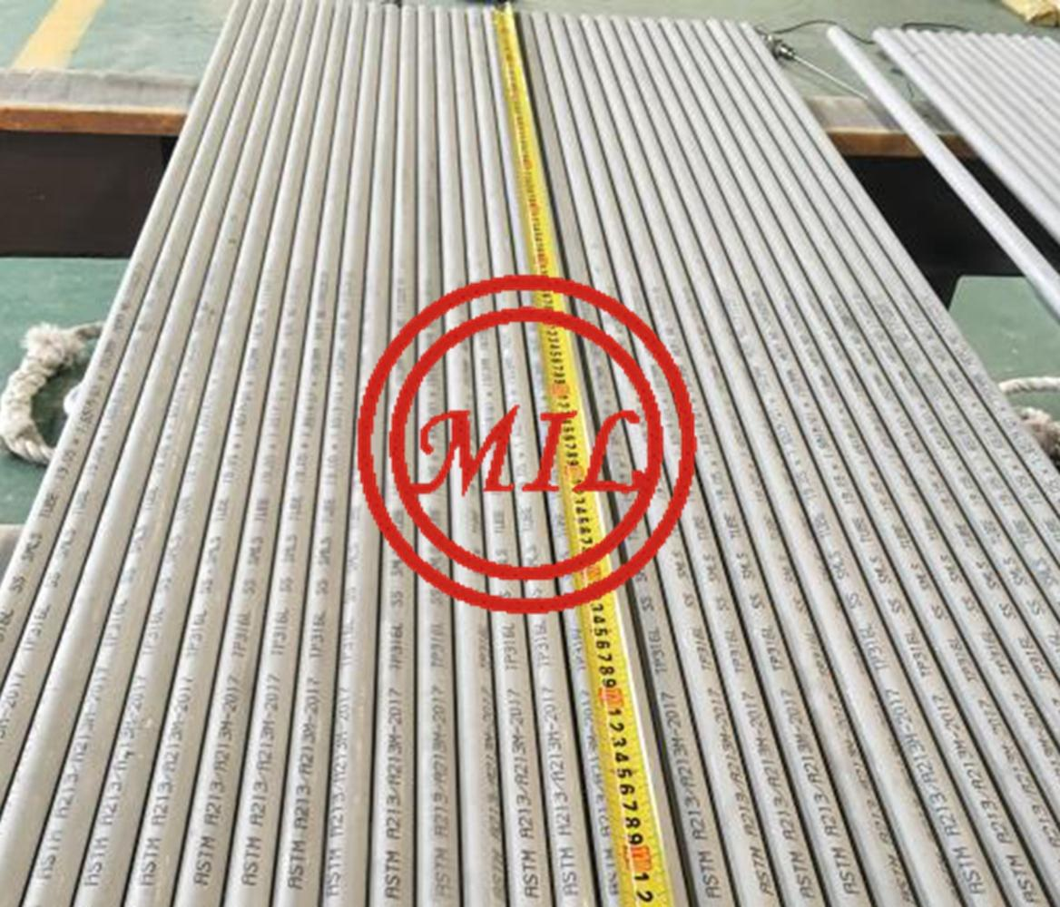 ASTM A213 TP316L SEAMLESS STAINLESS STEEL TUBE FOR HEAT EXCHANGER AND CONDENSER