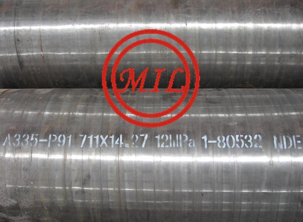 ASTM A335/ASME SA335高温用铁素体合金无缝钢管 6