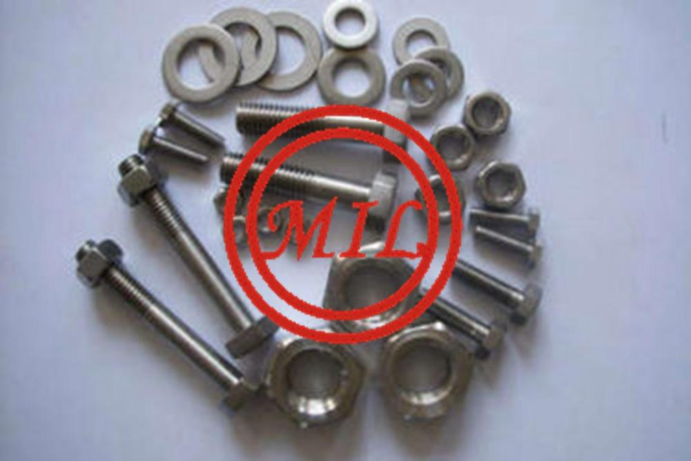 Incoloy 800 Hex bolt /Incoloy 800H / Incoloy 800HT hex bolt nuts