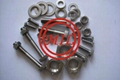Incoloy 901 Bolt, 2.4662 stud bolt UNS N09901 Hex bolt, Incoloy 901 Screw
