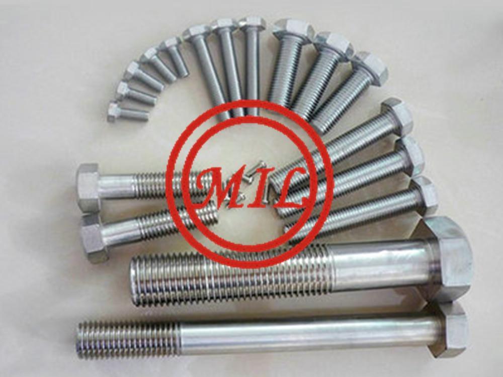 A182 F51 Bolt Nut, UNS S31803 Stud bolt, 1.4462 Duplex Stainless steel bolt
