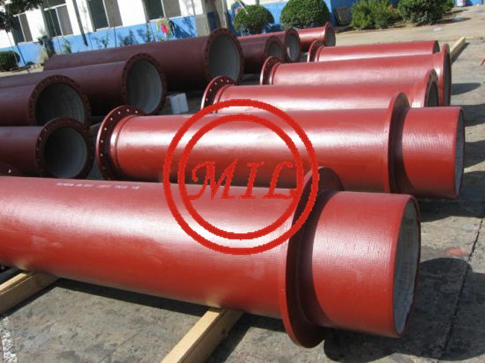 EN545,EN598,ISO 2531,AS 2280,BS 4772 Flanged Joint Ductile Iron Pipes 4