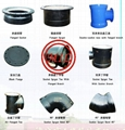 EN 545,EN 598,ISO 2531, ISO 4633,BS EN 877,BS 4772 DUCTILE IRON PIPE FITTINGS
