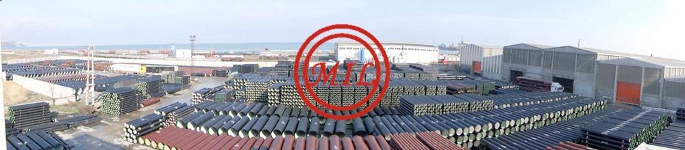ISO-2531-EN545-EN598-Cement-Lined-T-Type-Ductile-Iron-Pipe