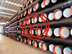 ISO 2531,EN  545,EN 598,BS 4772,AS 2280 Tyton (Push-on Joint) Ductile Iron Pipe