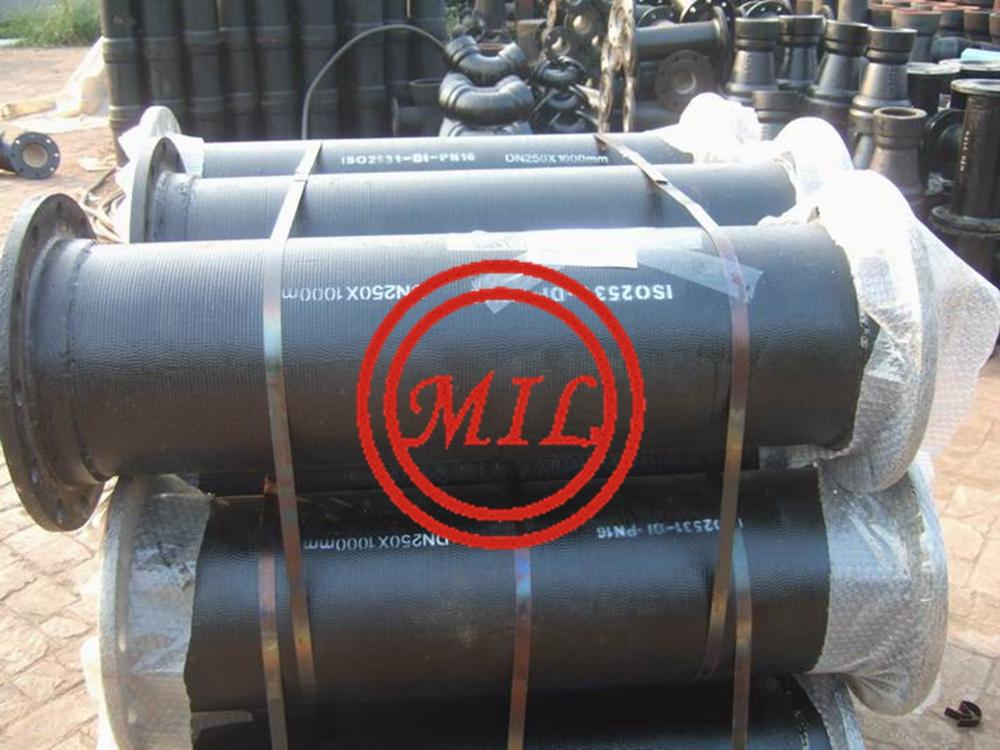 AS 2280 FLANGED DUCTILE IRON PIPES