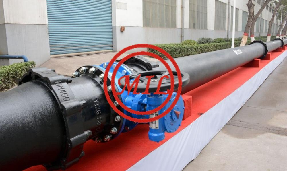 ISO2531 Self Anchoring Joint Type Ductile Iron Pipes 2