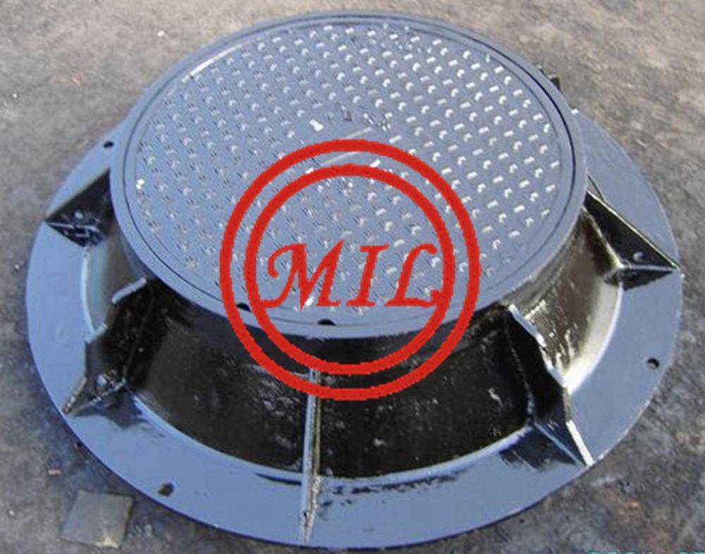 BS EN-124 Ductile Iron Manhole Covers