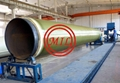 Glass syntactic polyurethane pipe insulation