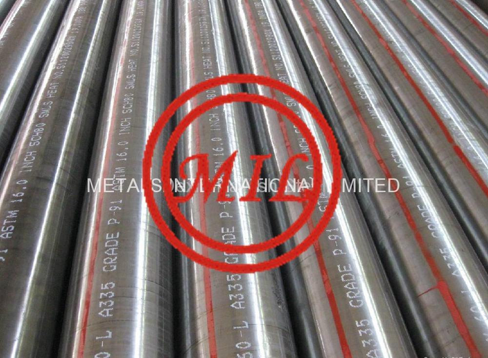 ASTM A335/ASME SA335高温用铁素体合金无缝钢管 1