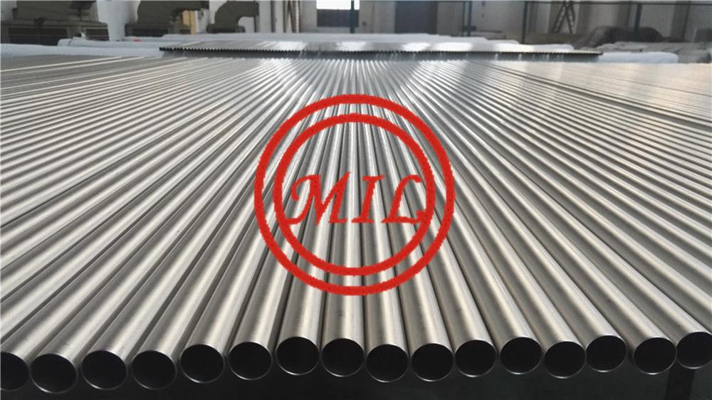 ASTM A338 GR. 2 bright annealed heat_exchanger titanium tube