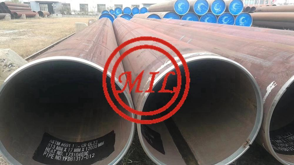 ASTM A691 1-1/4Cr C22 Carbon and Alloy Steel Pipe, Electric-Fusion-Resistance For High-Pressure Service at High-Temperatures