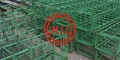 Deformed Welded Epoxyy Coated Rebar Mesh