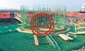 BS 4449,ASTM A615,ASTM A775,ISO 14654 FUSION BONDED EPOXY COATED REBAR/DEBAR 15