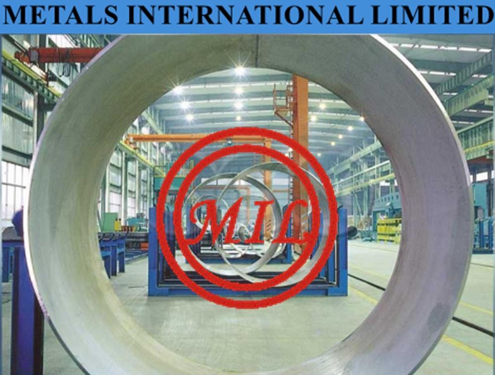 ASTM A268,EN 10217-7 三輥成型大口徑不鏽鋼焊接鋼管 1
