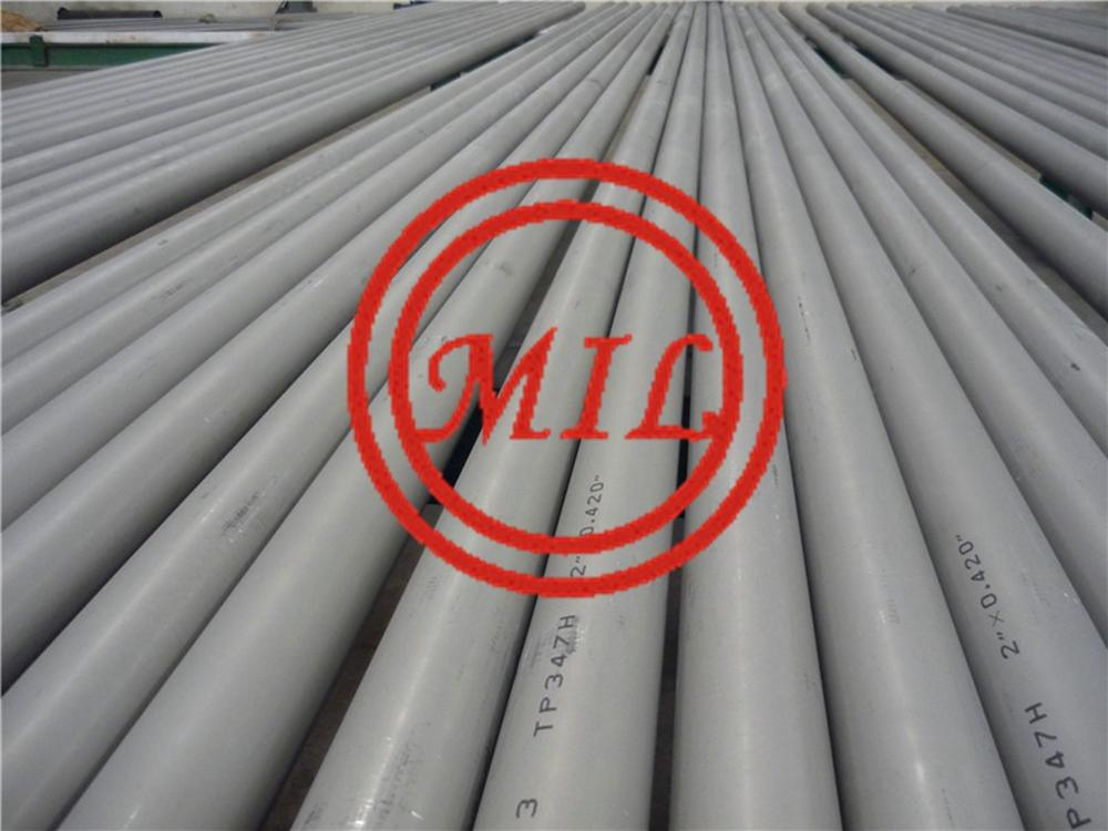 ASTM A376 TP347H seamless stainless steel pipe