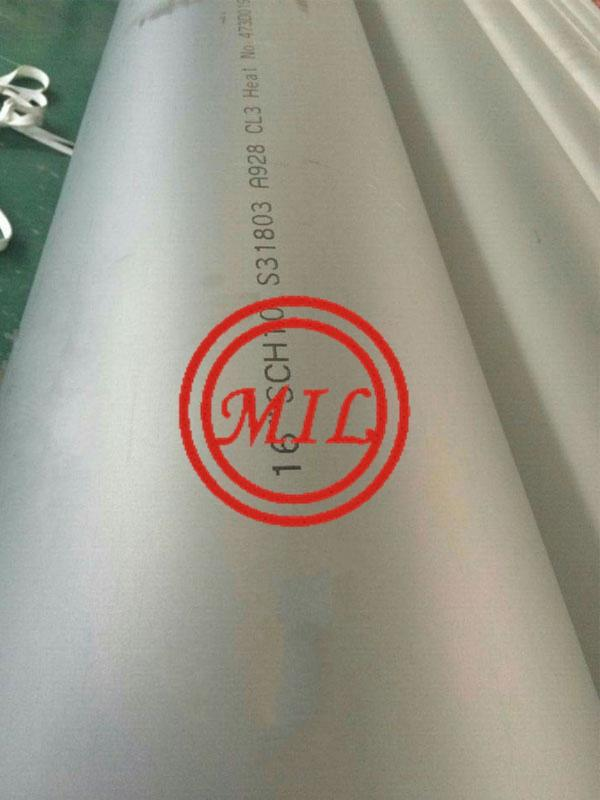 ASTM A928 S31803 WELDED STAINLESS STEEL PPIE