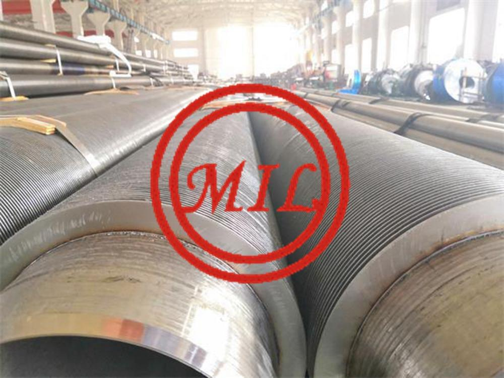 High Frequency Welded Spiral/Helical Fin Tube & Tubos aletados