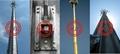 ASTM A595,DIN 4131,BS 8100,JIS G3444 Telecommunication Monopile,Antenna pole 9