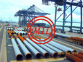 AS 1163,EN10219-1 S355+AS 1750/ISO 12944 STEEL PIPE PILES WITH FBE/3LPE COATING