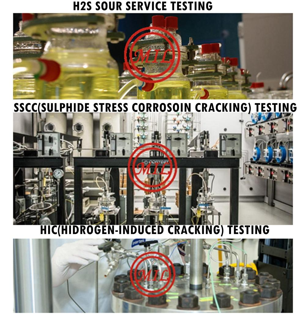 H2S,HIC,SSCC TESTING