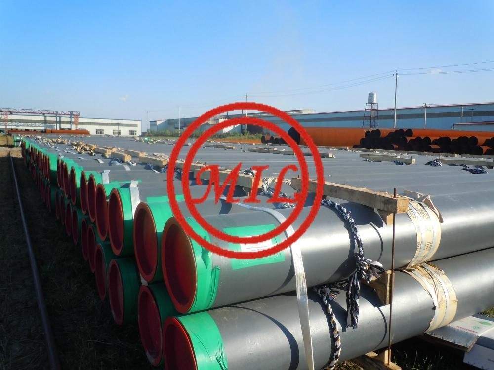 API 5L X65 PSL2+CSA Z245.20 FBE COATED ERW PIPE