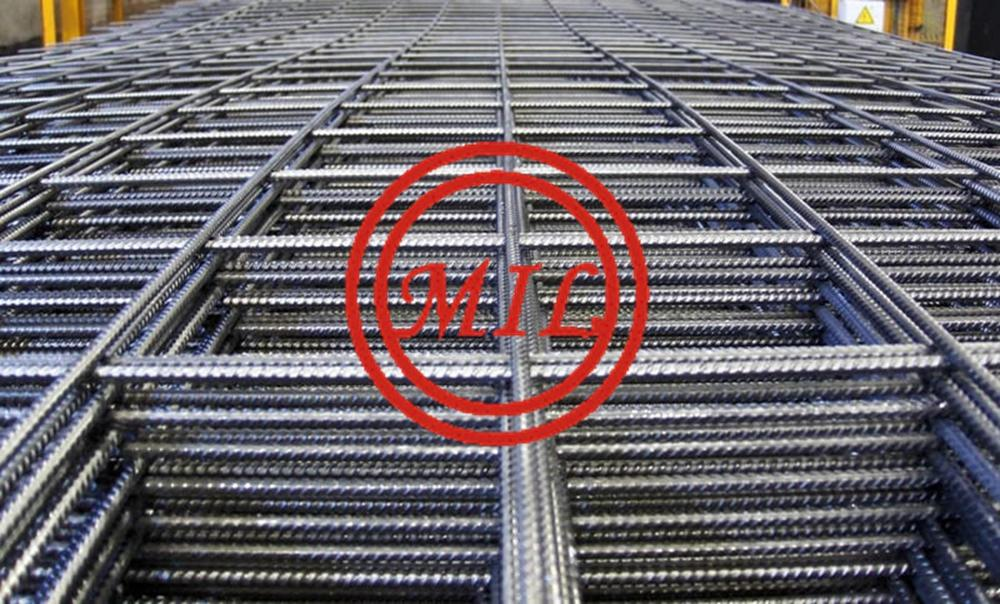 Deformed Welded Galvanized Rebar Mesh