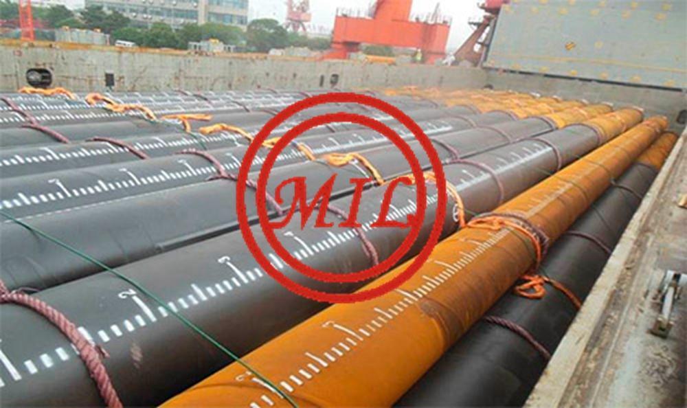 鋼管樁,樁管-ASTM A252,AS 1163,AS 1579,EN 10219-1,JIS 5525 8