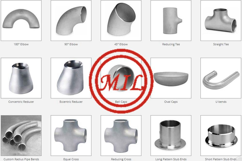 ANSI B16.9,MSS SP-43,ASTM A403,ASTM A815,DIN 2605,EN 10253-2 SS FITTINGS 19