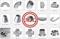 ANSI B16.9,MSS SP-43,ASTM A403,ASTM A815,DIN 2605,EN 10253-2 SS FITTINGS