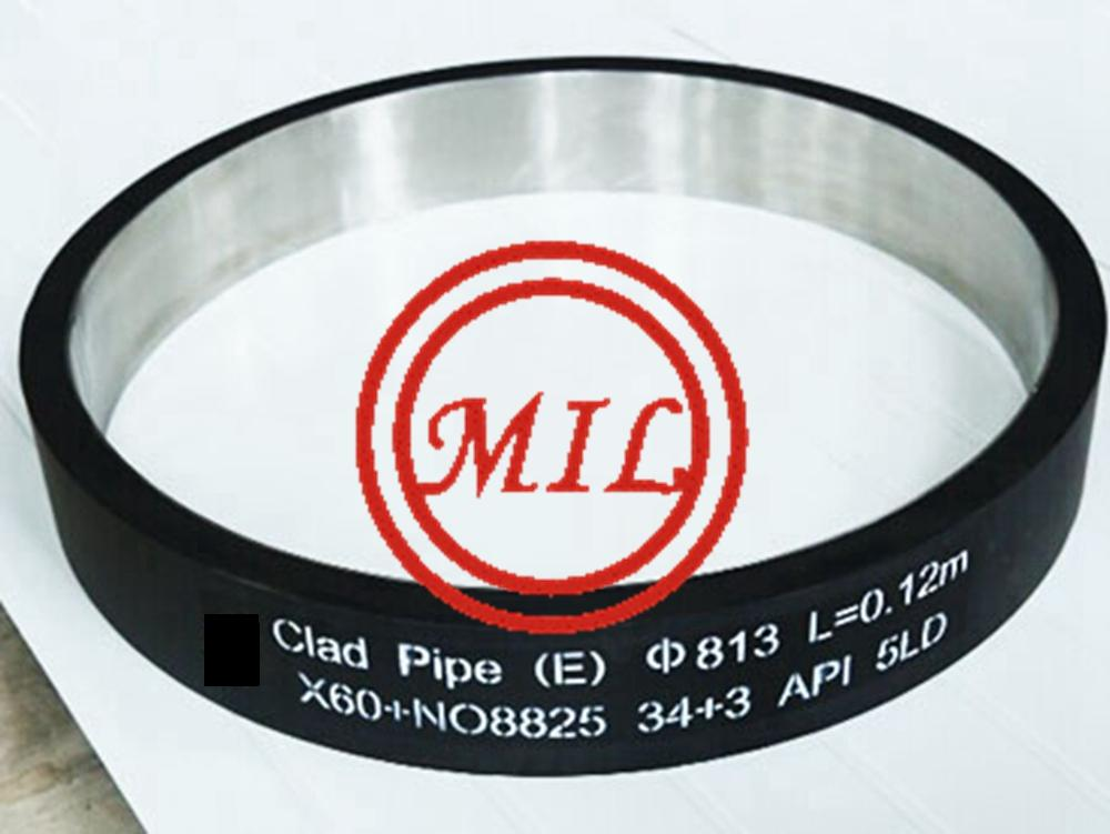 API 5LD CRA Clad or Lined Steel Pipe