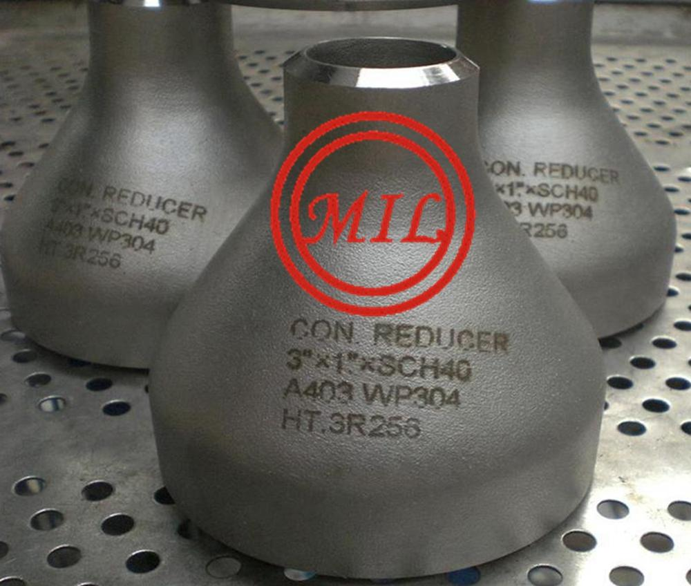 ASTM A403 WP304 STAINLESS STEEL CONCENTRIC REDUCER