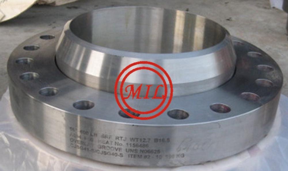 ASME B16.5 Inconel 625 Swivel Ring Flange rtj-16