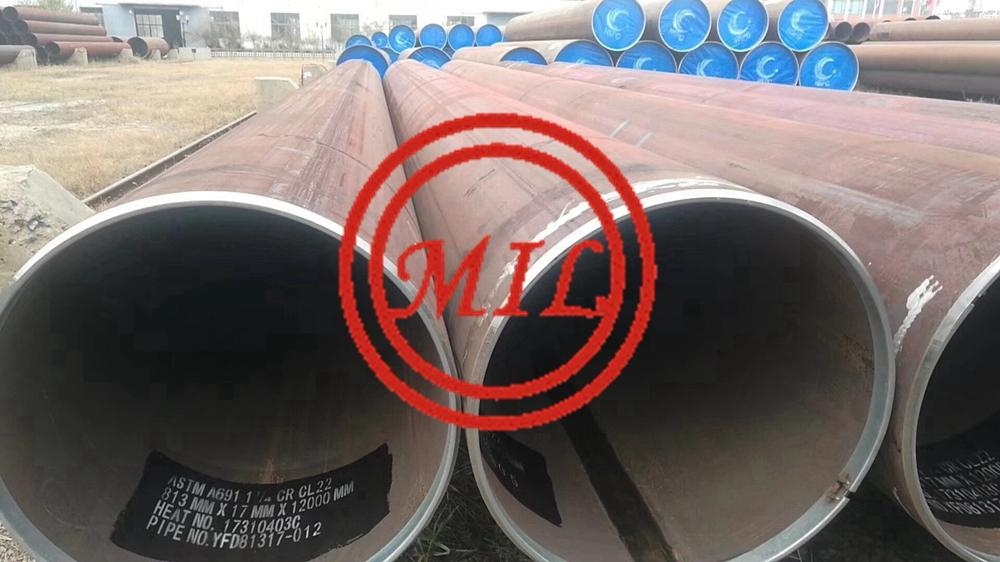 ASTM A691 1.25CR C22 EFW PIPE