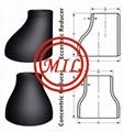 ASME B16.9,MSS SP-43,MSS SP75,ASME A860 CARBON STEEL REDUCER