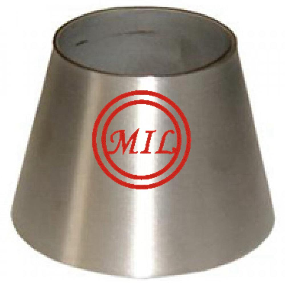 Hygienic Concentric Reducer 316 to BS 4825 PART 2 (Polished)