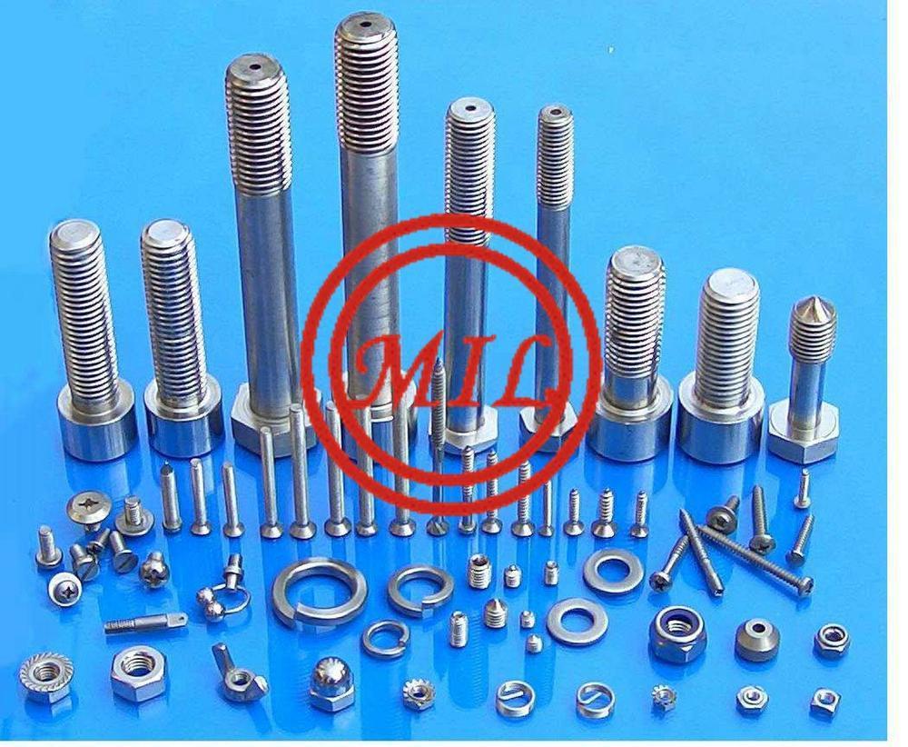 ASTM F468 / F468M alloy 20 UNS N08020 Hastelloy B2,UNS N010665 stud bolt,hex bolt,nuts