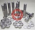 钛合金螺栓/螺柱/螺母/垫圈/