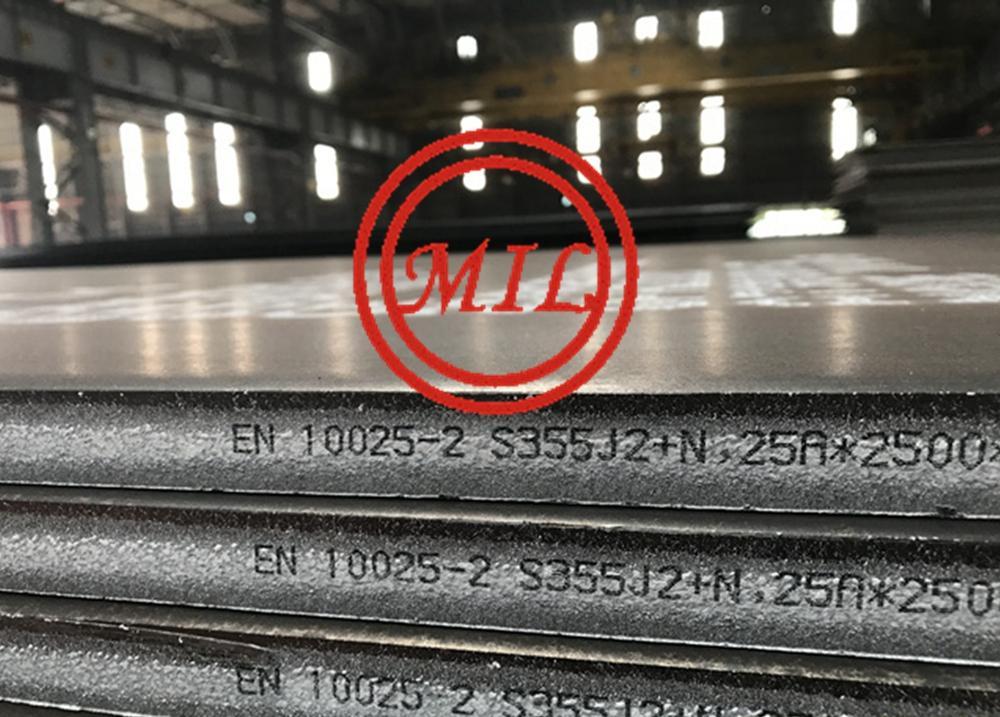 EN 10025-2 S355J2WP Atmosphere Corrosion Resistance Steel Plate