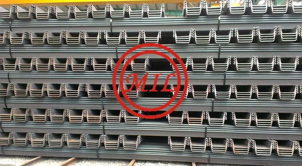 U TYPE HOT ROLLED SHEET PILE