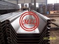 EN 10248-1 S355GP COLD ROLLED U SHEET PILE