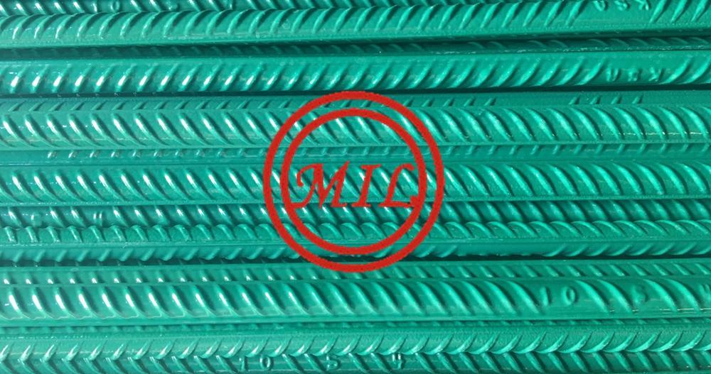 環氧塗敷混凝土鋼觔、螺紋鋼 1