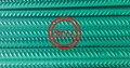 BS 4449,ASTM A615,ASTM A775,ISO 14654 FUSION BONDED EPOXY COATED REBAR