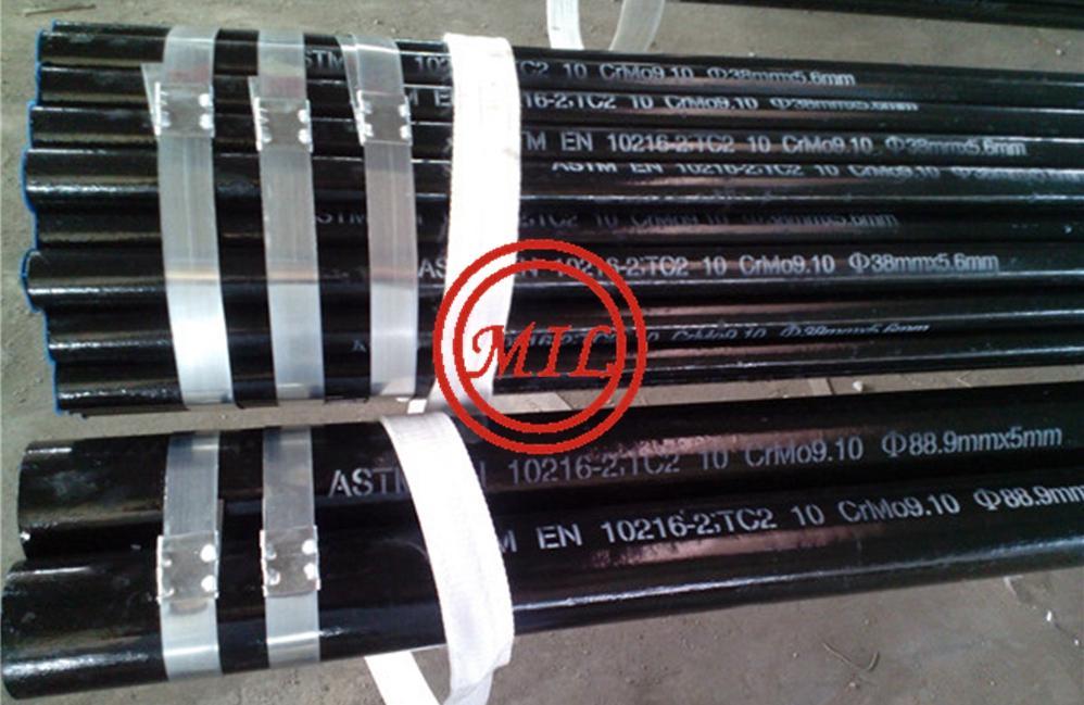 EN-10216-2 13CrMo4-5 seamless-pipe for Power Plant